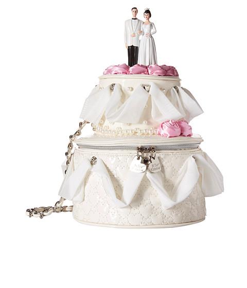 betsey johnson wedding cake shoulder bag. Black Bedroom Furniture Sets. Home Design Ideas