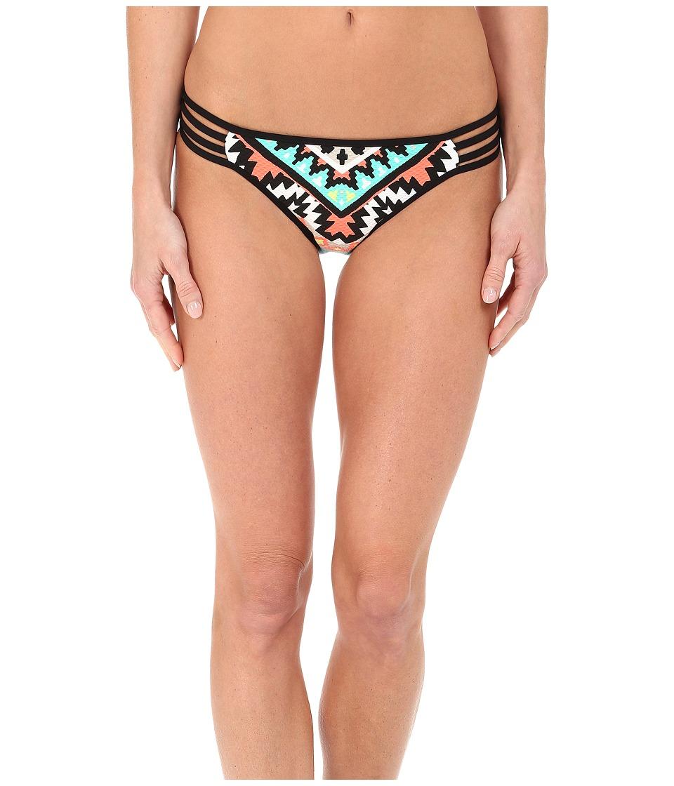 Seafolly Kasbah Multi Strap Hipster Bottom Nectarine Womens Swimwear