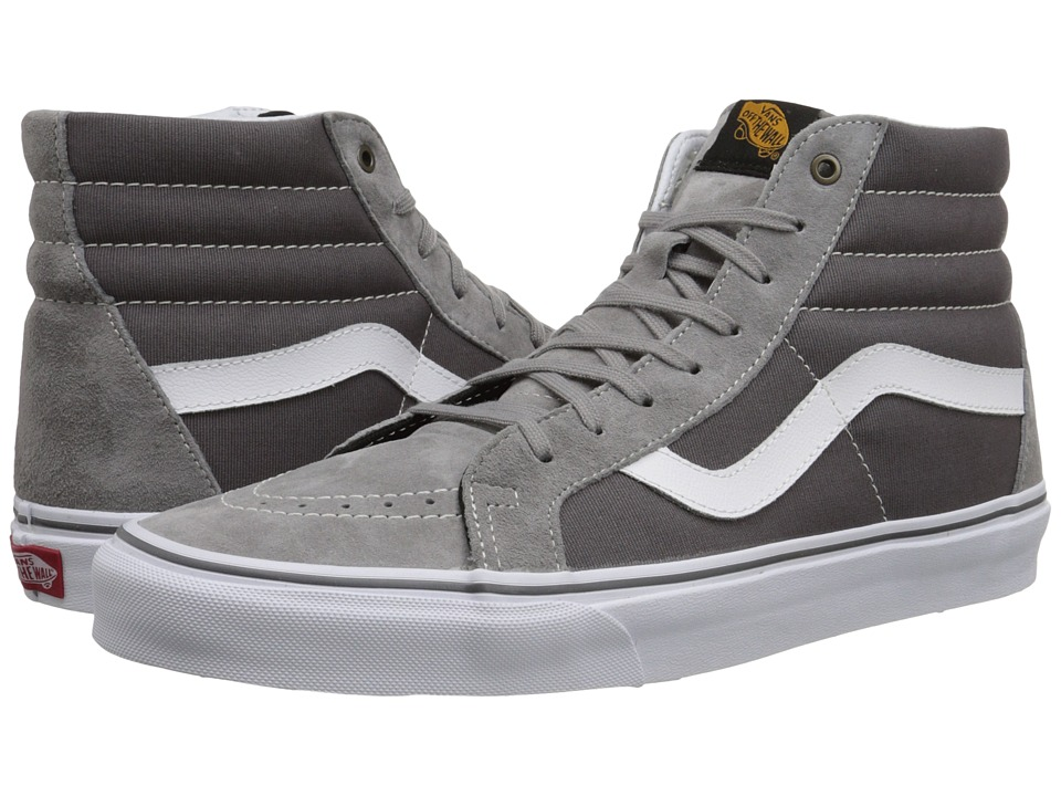Vans SK8 Hi Reissue Surplus Frost Gray/Pewter Skate Shoes
