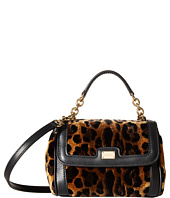 Dolce & Gabbana Kids - City Leopard Print Mini Handbag (Little Kids/Big Kids)