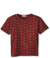 Dolce & Gabbana Kids - Crown Print Short Sleeve T-Shirt (Toddler/Little Kids)