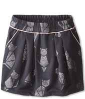 Little Marc Jacobs - Cat Foil Print Fleece Skirt (Little Kids/Big Kids)