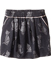 Little Marc Jacobs - Cat Foil Print Fleece Skirt (Big Kids)