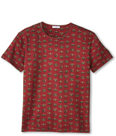 Dolce & Gabbana Kids - Crown Print Short Sleeve T-Shirt (Big Kids)