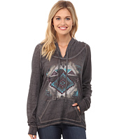 Rock and Roll Cowgirl - Long Sleeve Pullover Hoodie 48H4244