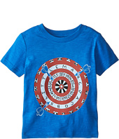 Little Marc Jacobs - Short Sleeve Dart Print T-Shirt (Toddler/Little Kids)