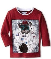 Little Marc Jacobs - Long Sleeve Koala Space Suit T-Shirt (Toddler/Little Kids)