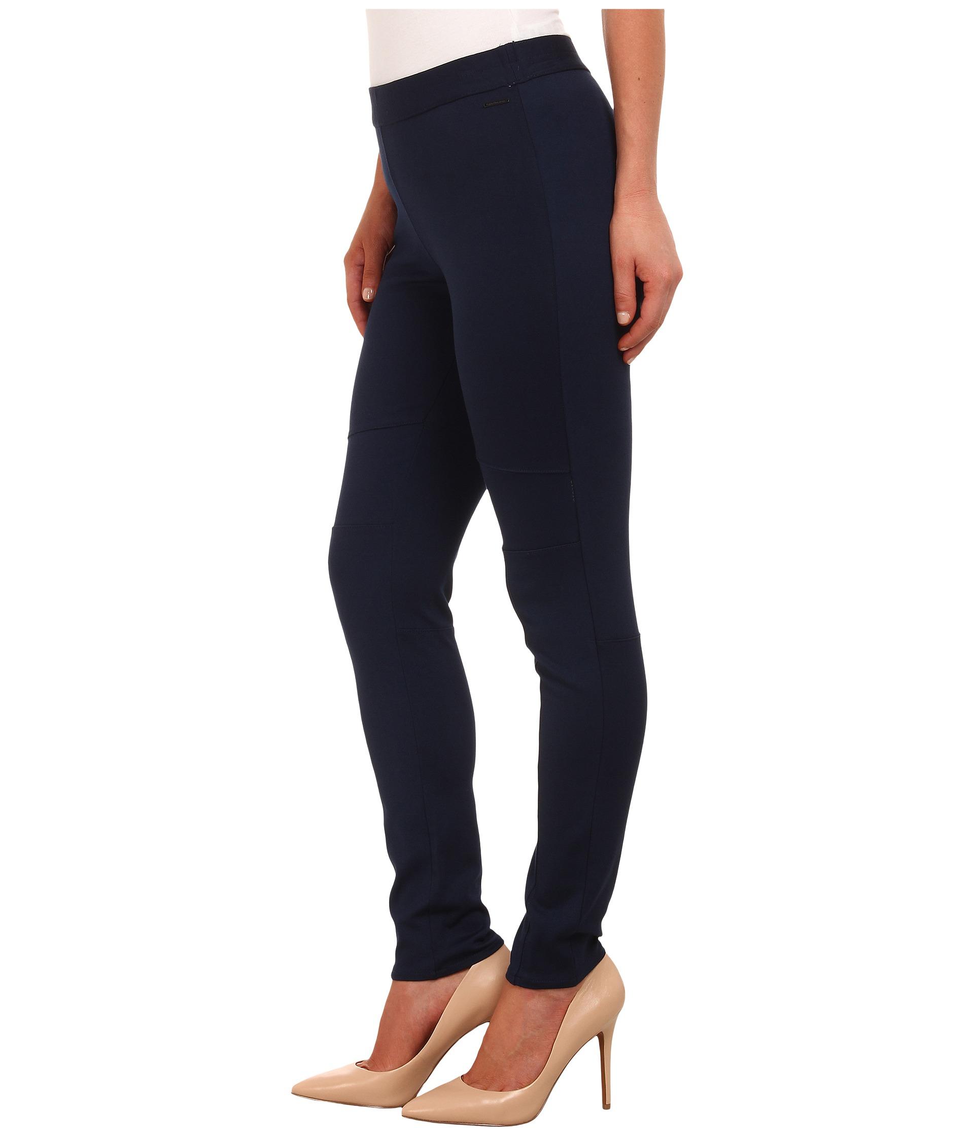 calvin klein jeans pull on ponte leggings. Black Bedroom Furniture Sets. Home Design Ideas