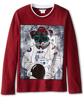 Little Marc Jacobs - Long Sleeve Koala Space Suit T-Shirt (Little Kids/Big Kids)