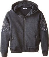 Dolce & Gabbana Kids - Embroidered Crown Hoodie (Toddler/Little Kids)