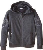 Dolce & Gabbana Kids - Embroidered Crown Hoodie (Big Kids)
