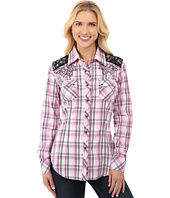 Rock and Roll Cowgirl - Long Sleeve Snap B4S3782
