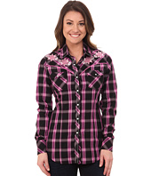 Rock and Roll Cowgirl - Long Sleeve Snap B4S4464