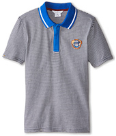 Little Marc Jacobs - Short Sleeve Striped Polo (Little Kids/Big Kids)