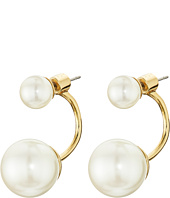 Kate Spade New York - Dainty Sparklers Double Pearl Reversible Earrings