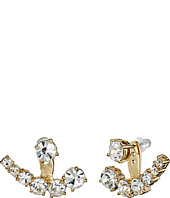 Kate Spade New York - Dainty Sparklers Ear Jacket Earrings