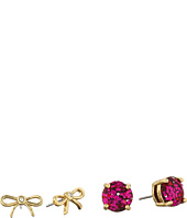 Kate Spade New York - Bow Two-Piece Studs Earrings Set