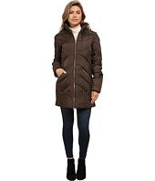 Sam Edelman - Zip Front 3/4 Puffer Coat