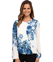 Adrianna Papell - Printed Crossover Top