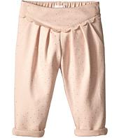 Chloe Kids - Pleated Mini Gold Dot Pants (Infant)