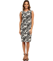 Adrianna Papell - Jacquard Fitted Dress