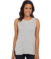 TWO by Vince Camuto - Sleeveless Travelling Stitch Ribbed Pullover