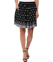 TWO by Vince Camuto - Playful Foulard Border A-Line Mini Skirt