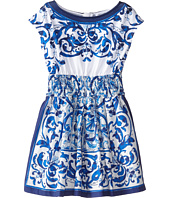 Dolce & Gabbana - Mediterranean Sleeveless Dress (Toddler/Little Kids)