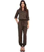 TWO by Vince Camuto - Soft Tencel Utility Drawstring Jumpsuit