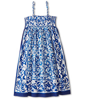 Dolce & Gabbana - Mediterranean Cover-Up Dress (Big Kids)