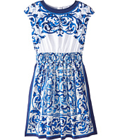 Dolce & Gabbana - Mediterranean Sleeveless Dress (Big Kids)