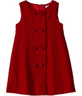 Dolce & Gabbana Kids - City Button Detail Dress (Toddler/Little Kids)