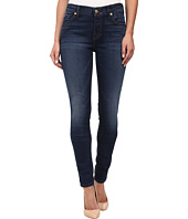 7 For All Mankind - The Skinny with Spice Squiggle in Slim Illusion Rich Vibrant Blue