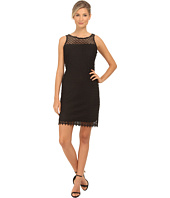rsvp - Short Lace Sheath Thank Dress