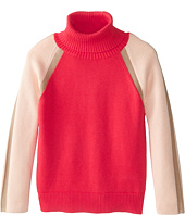 Chloe Kids - Tricolor Turtleneck Sweater (Little Kids/Big Kids)