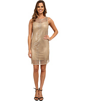 rsvp - Sleeveless Sequin Netting Dress