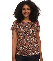 MICHAEL Michael Kors - Plus Size Tokara Short Sleeve Logo Tee