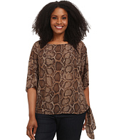 MICHAEL Michael Kors - Plus Size Columbia Tie Top