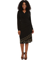 MICHAEL Michael Kors - Plus Size Grommet Hem Wrap Dress