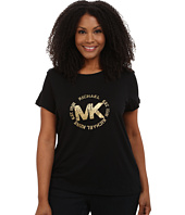 MICHAEL Michael Kors - Plus Size Foil Logo Tee
