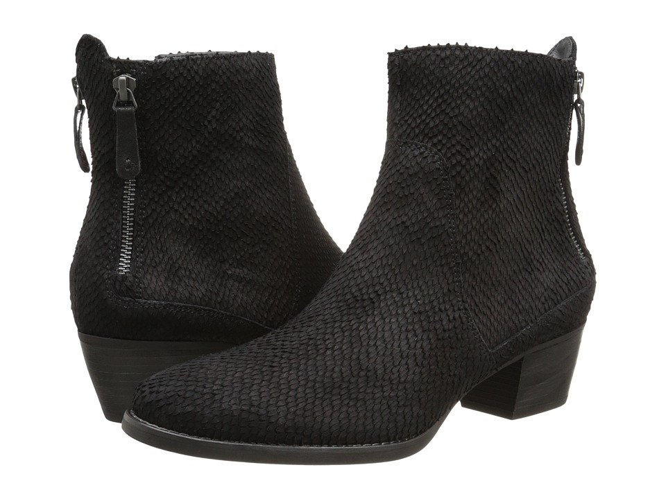 Paul Green - Dory Bootie (Black Metallic) Women