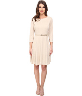 Jessica Howard - Long Sleeve Dress w/ Godet Skirt