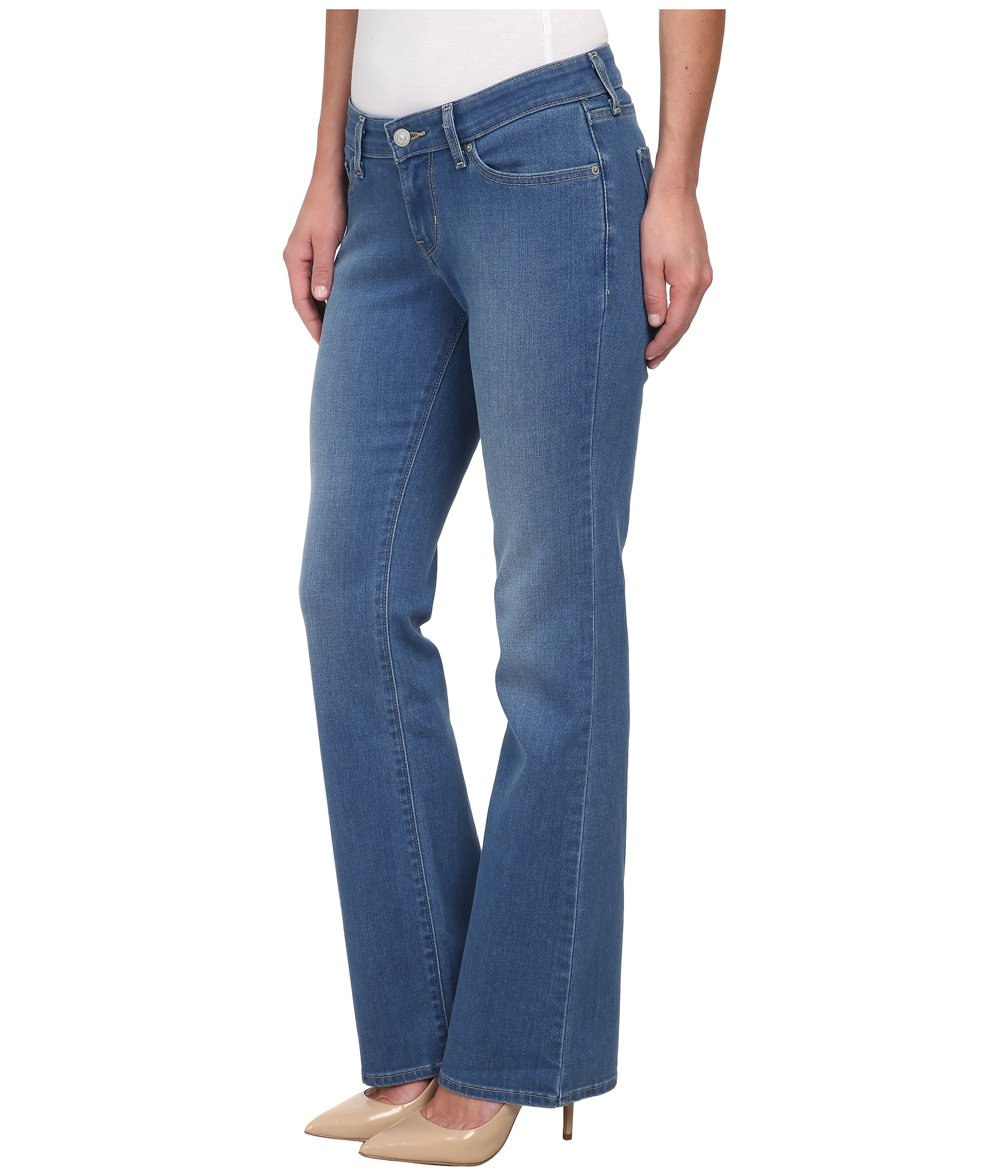 Levi's® Womens 815™ Curvy Bootcut Inkwell - Zappos.com ...