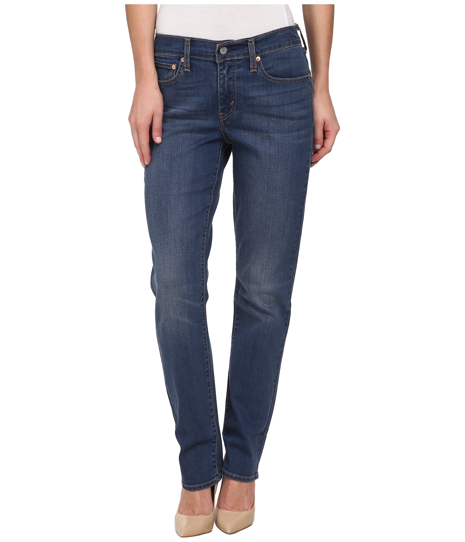Levi&39s® Womens 414™ Relaxed Straight - Zappos.com Free Shipping