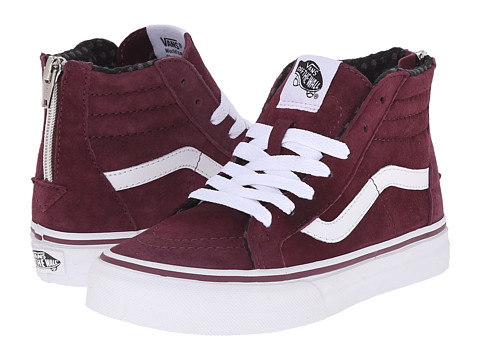 Vans Kids Sk Hi Zip Little Kid Big Kid
