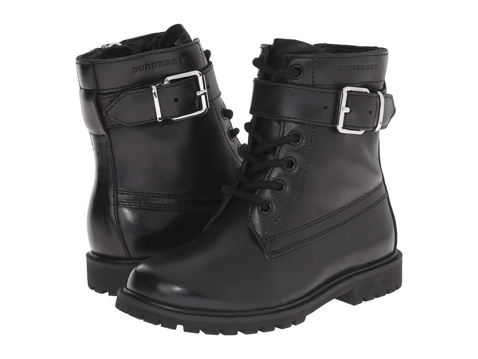 Burberry Kids K1 Woodcliff Toddler/Little Kid Black Kids Shoes