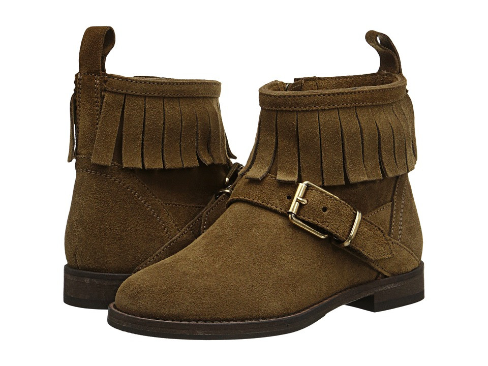 Burberry Kids K1 Mini Quarrybank Toddler/Little Kid Light Oak Brown Kids Shoes
