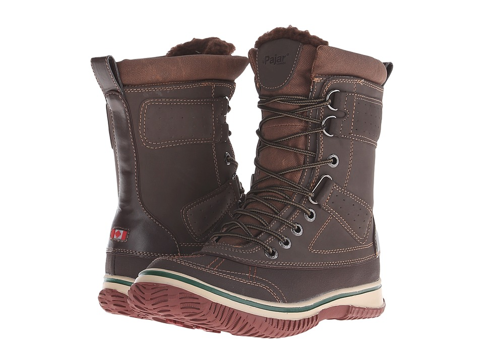 Pajar CANADA Gash Dark Brown Mens Hiking Boots