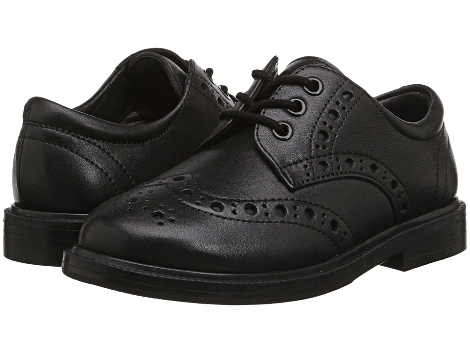 Burberry Kids K1-Smeaton (Toddler/Little Kid) (Black) Kid's Shoes
