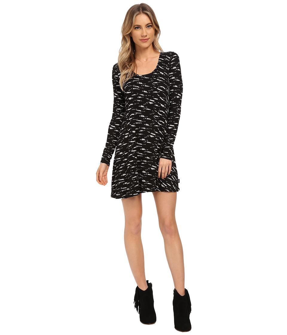 RVCA Nee Neelow Dress Black Womens Dress